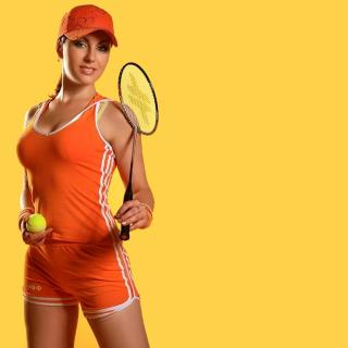 Female Tennis Player - Obrázkek zdarma pro iPad mini 2