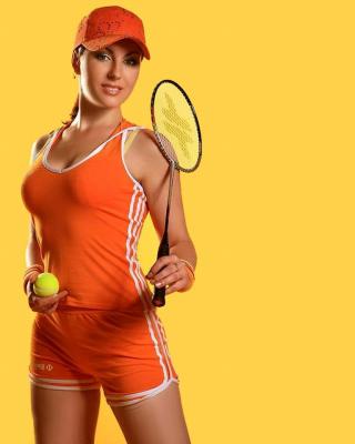 Female Tennis Player - Obrázkek zdarma pro Nokia Asha 202