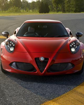 Alfa Romeo 4C Front View - Obrázkek zdarma pro Nokia C7