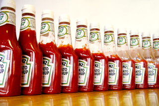 Heinz Ketchup Background for Android, iPhone and iPad