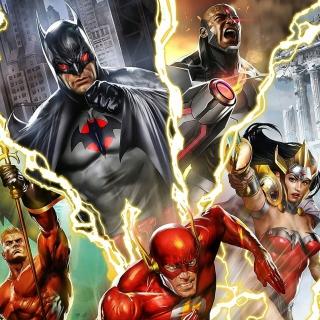 Justice League: The Flashpoint Paradox - Obrázkek zdarma pro 208x208