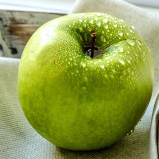 Green Apple - Obrázkek zdarma pro 2048x2048