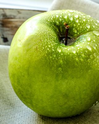 Green Apple - Obrázkek zdarma pro iPhone 4