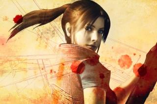Resident Evil Claire Redfield - Obrázkek zdarma pro LG P970 Optimus