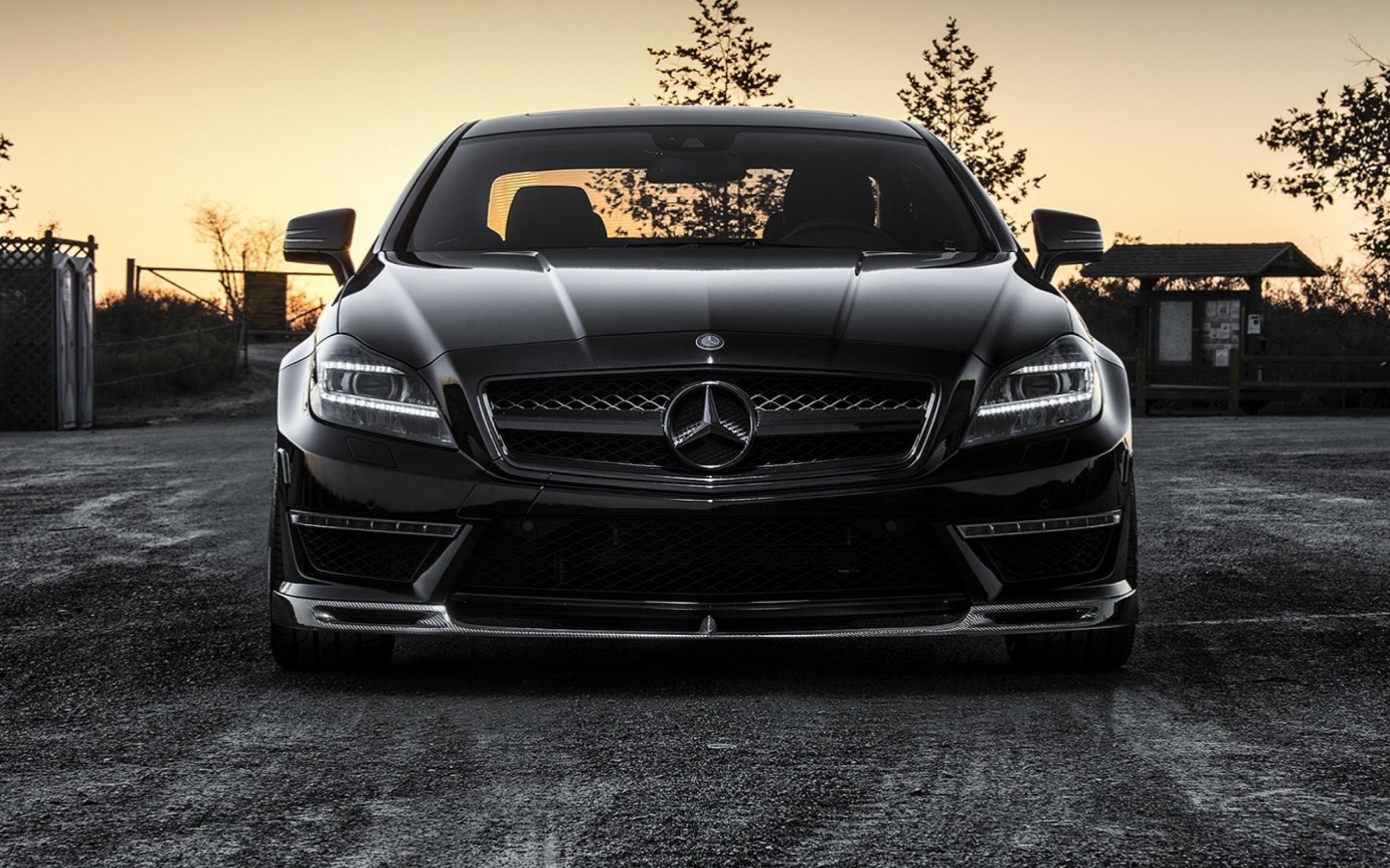 Mercedes black  № 1615480 бесплатно