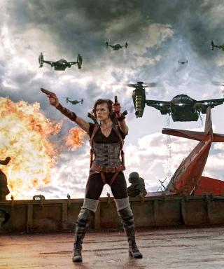 Resident Evil Retribution - Obrázkek zdarma pro 128x160