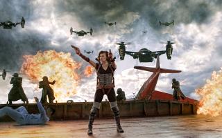 Resident Evil Retribution - Obrázkek zdarma pro LG P970 Optimus