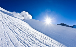 Alpine Skiing Background for Android, iPhone and iPad
