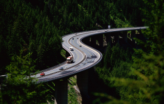 Beautiful Road Background for Android, iPhone and iPad