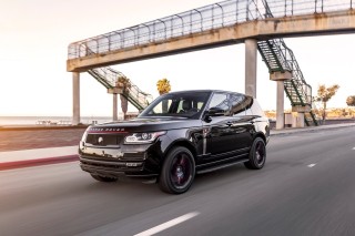 Free Black Tie STRUT Land Rover Range Rover Picture for Android, iPhone and iPad