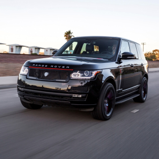 STRUT Land Rover Range Rover - Obrázkek zdarma pro iPad Air