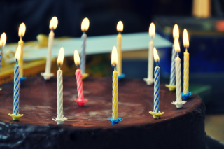 Birthday Cake - Obrázkek zdarma pro Nokia Asha 205