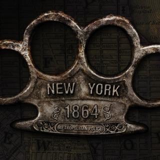 New York Police Knuckles - Obrázkek zdarma pro 320x320