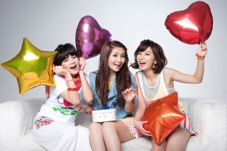 Selina Jen from SHE Taiwanese Mandopop Girl Group - Obrázkek zdarma pro Samsung Galaxy Tab 3 10.1