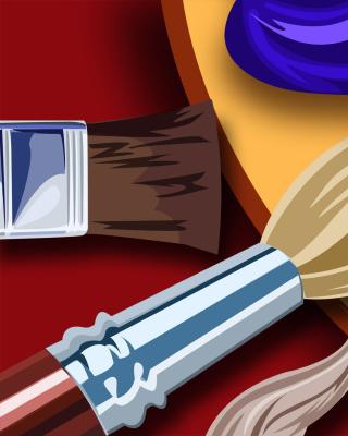 Color palette for artist - Obrázkek zdarma pro iPhone 6