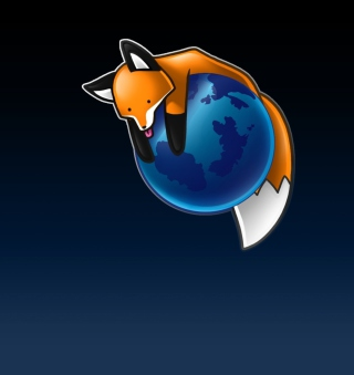 Tired Firefox - Obrázkek zdarma pro 1024x1024