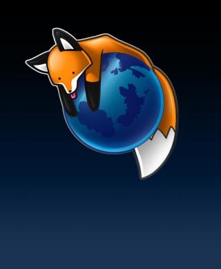 Tired Firefox - Obrázkek zdarma pro Nokia C1-02