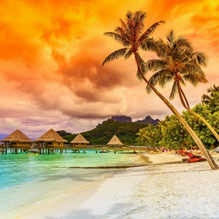 Reethi Beach Resort best Maldives luxury hotel - Obrázkek zdarma pro 1024x1024
