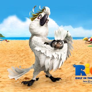 Rio, Antagonist Nigel - Obrázkek zdarma pro iPad 3