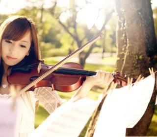 Playing Violin - Obrázkek zdarma pro 2048x2048