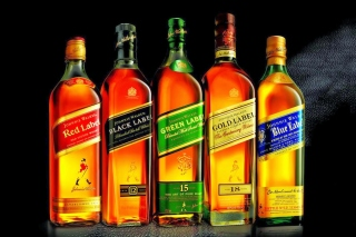 Johnnie Walker Label Whisky Background for Android, iPhone and iPad