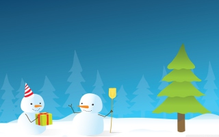 Free Happy Winter Holidays Picture for Android, iPhone and iPad
