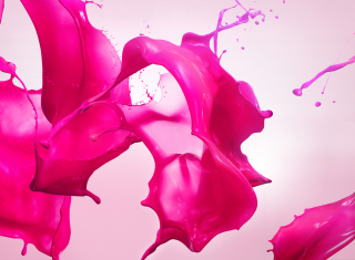 Pink Paint Wallpaper for Android, iPhone and iPad