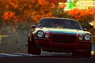 Camaro RS from game Gran Turismo 6 - Obrázkek zdarma pro 176x144
