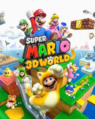 Super Mario 3D World - Obrázkek zdarma pro Nokia Asha 308