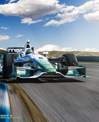 IndyCar Series Racing - Obrázkek zdarma pro Nokia Asha 203