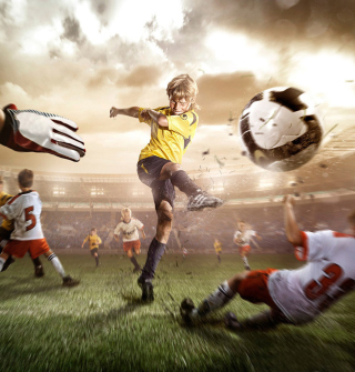 Football Goal - Obrázkek zdarma pro iPad mini 2