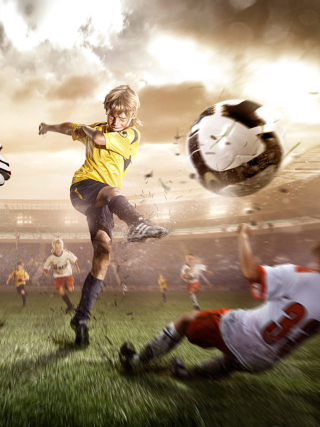 Football Goal - Obrázkek zdarma pro iPhone 4S