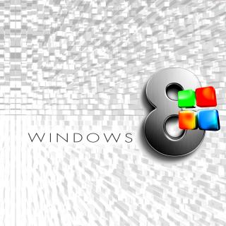Windows 8 Logo Wallpaper - Obrázkek zdarma pro 320x320