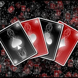 Poker cards - Obrázkek zdarma pro iPad Air