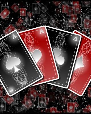 Poker cards - Obrázkek zdarma pro 240x400