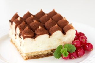 Free Tiramisu Coffee Flavored Italian Dessert Picture for Android, iPhone and iPad