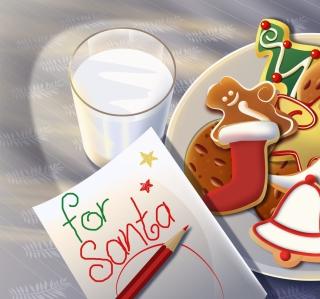 Sweets For Santa - Obrázkek zdarma pro 128x128