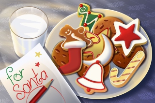 Sweets For Santa - Obrázkek zdarma pro 1024x768