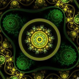 Celtic Flower - Obrázkek zdarma pro 320x320