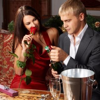 Romantic Couple - Obrázkek zdarma pro iPad Air