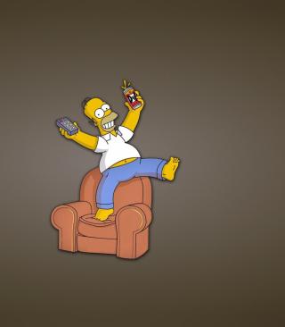 Homer Simpson - Obrázkek zdarma pro 640x1136