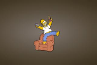 Homer Simpson - Obrázkek zdarma pro Google Nexus 5