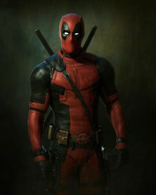 Deadpool Superhero - Obrázkek zdarma pro 640x1136