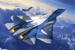 Sukhoi PAK FA Fighter Aircraft - Obrázkek zdarma pro Samsung Galaxy Note 8.0 N5100