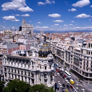 Madrid - Obrázkek zdarma pro 1024x1024