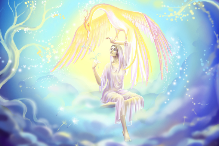 Phoenix Girls by joya filomena wallpaper
