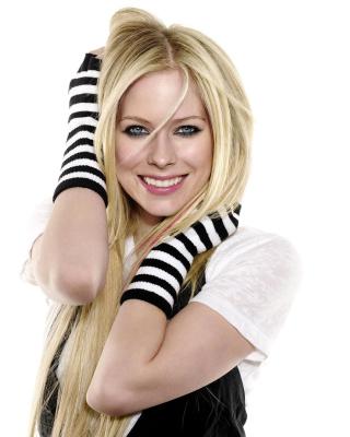 Avril Lavigne Poster - Obrázkek zdarma pro 240x432