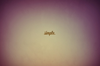Simple Wallpaper for Android, iPhone and iPad