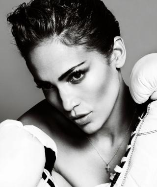 Jennifer Lopez Boxing - Obrázkek zdarma pro iPhone 5S