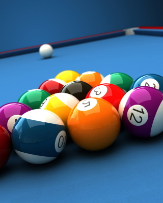 Billiard Pool Table - Obrázkek zdarma pro Nokia Asha 203